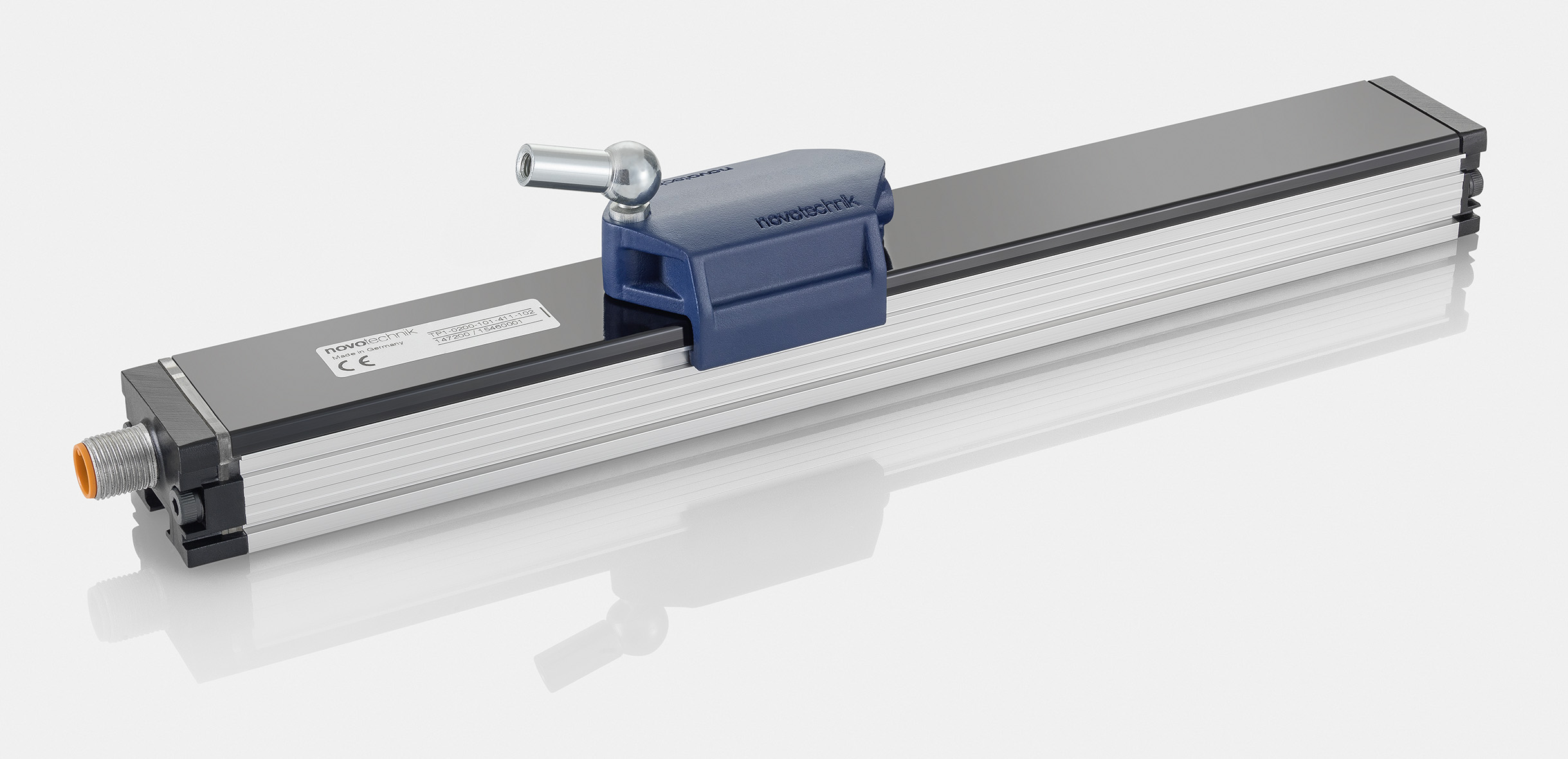 Linear Transducers In Various Designs An Measuring Lengths